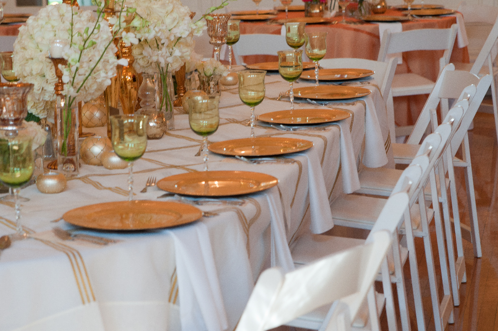 Glendale Lyceum gorgeous place settings helen adams photography