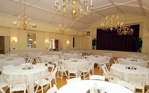Glendale Lyceum ballroom white wedding