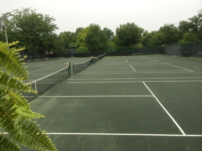 Glendale Lyceum clay tennis courts